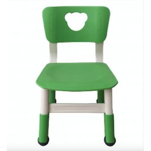 塑料可升降小熊/心形椅子