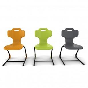 塑料靠背椅子