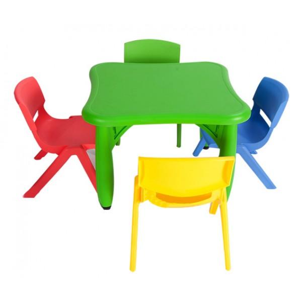 可拆塑料桌