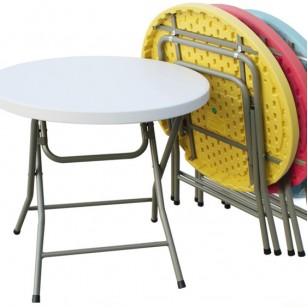 小圓桌(可配折疊椅)